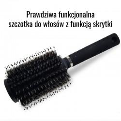 Sprytna skrytka - szczotka do włosów